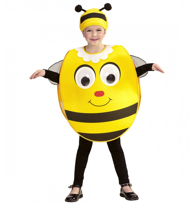 Disfraz de abeja de ojos saltones infantil