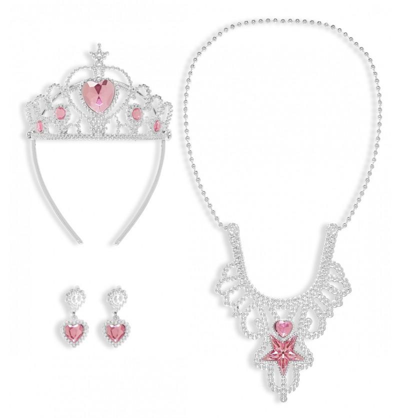 Kit de accesorios de princesa real para niña