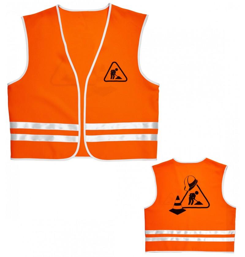 Disfraz de obrero constructor para adulto