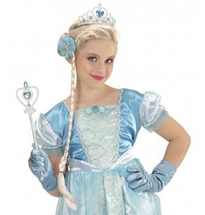 Kit de accesorios de princesa de las nieves para niña