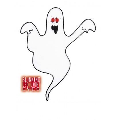 fantasma decorativo con ojos brillantes