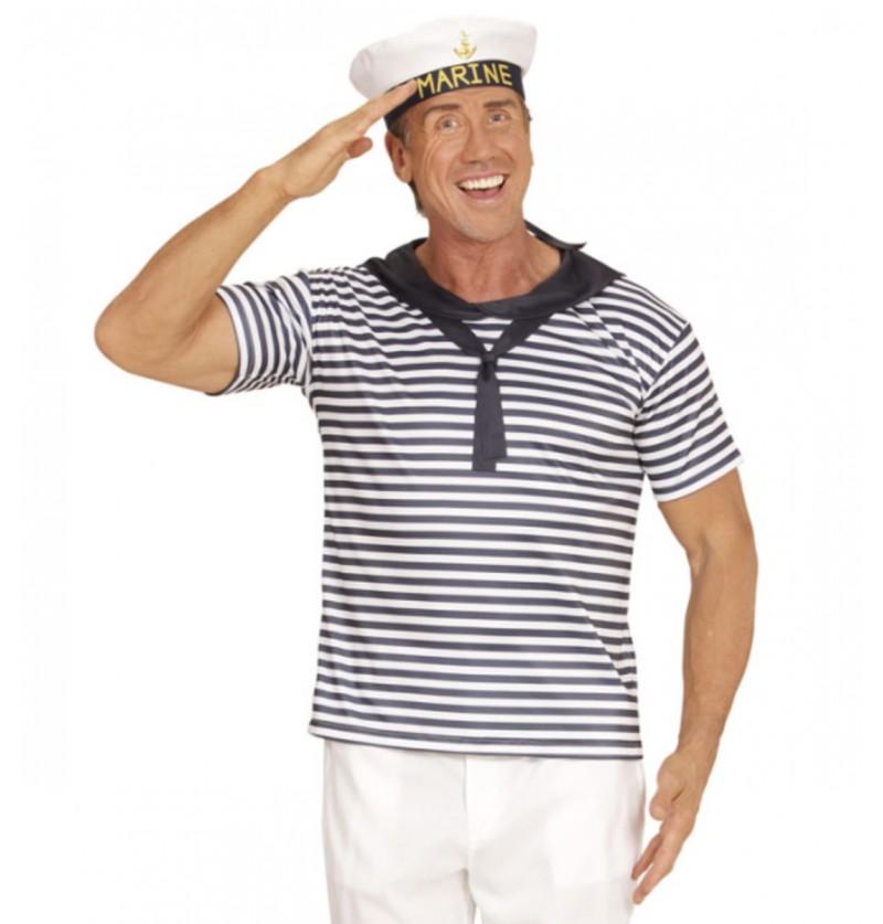 Kit disfraz de marinero de altamar