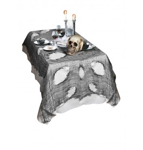 tela decorativa negra para halloween