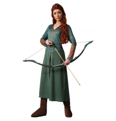 disfraz de tauriel el hobbit la desolacin de smaug para mujer