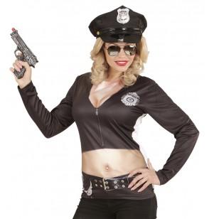 Disfraz de policía stripper sexy para mujer