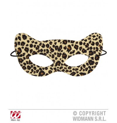 Antifaz de leopardo seductor para adulto