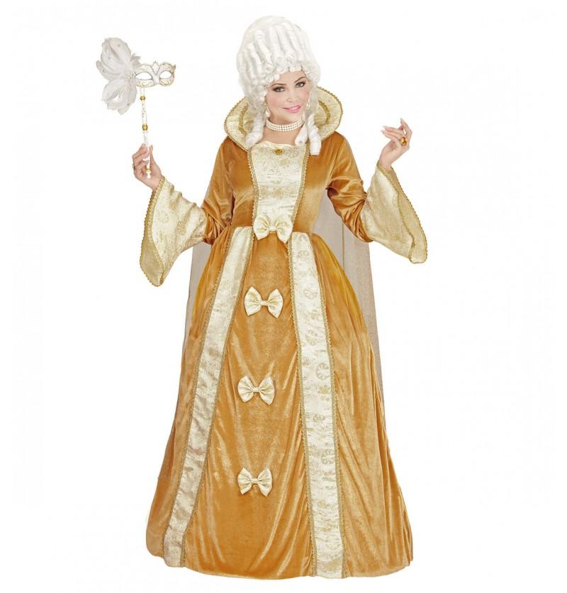 Disfraz de marquesa veneciana para mujer