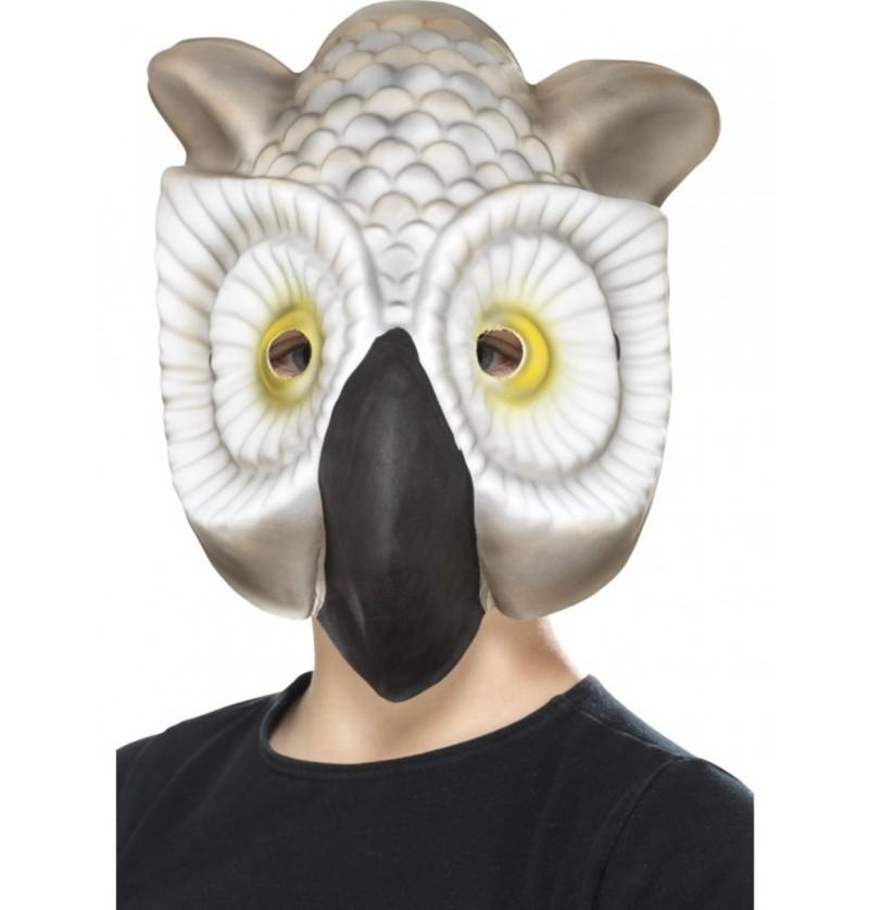 Máscara de búho real de EVA infantil
