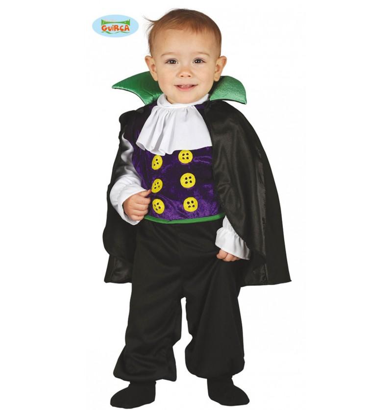Disfraz de vampiro travieso para bebé