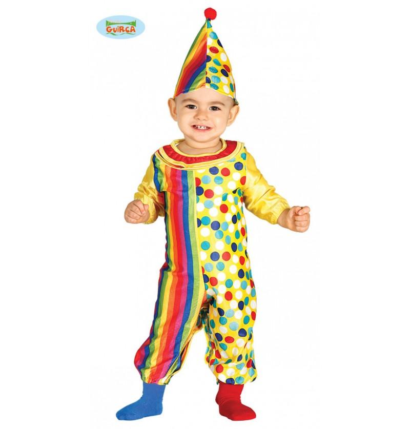 Disfraz de payasito encantador para bebé