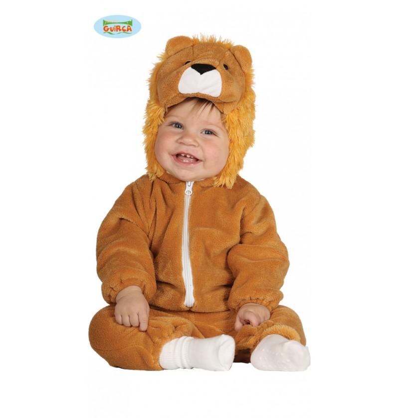 Disfraz de león rey de la selva para bebé
