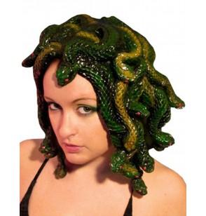 peluca de medusa esculpida