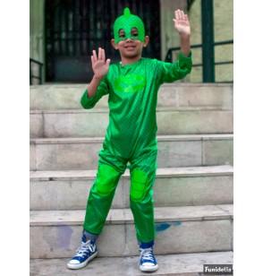 disfraz gekko pj masks classic para nio