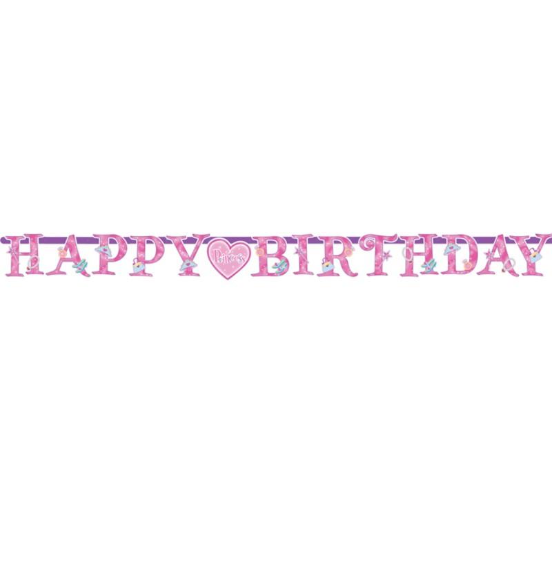 Guirnalda Happy Birthday Princess