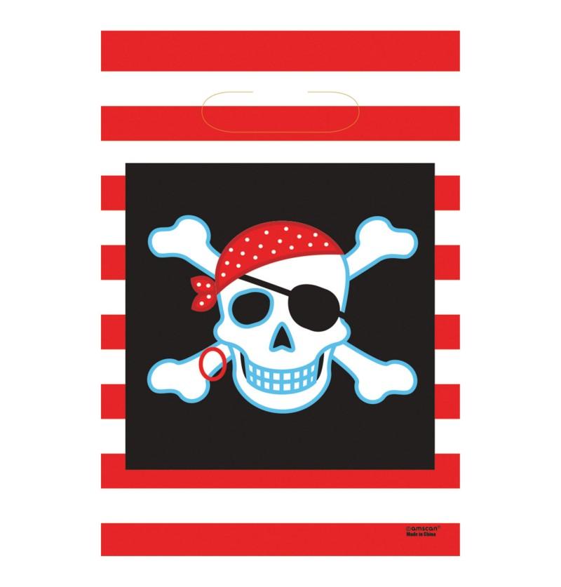 Set de 8 bolsas Pirate Party