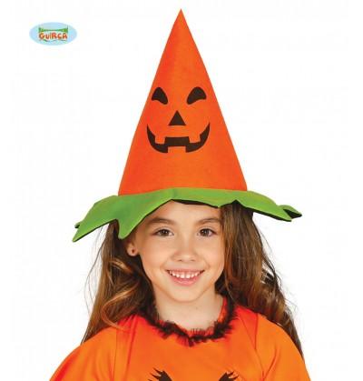 Sombrero de calabaza clásica infantil