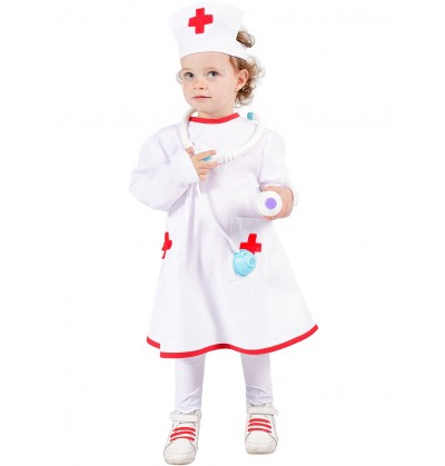disfraz de enfermera infantil