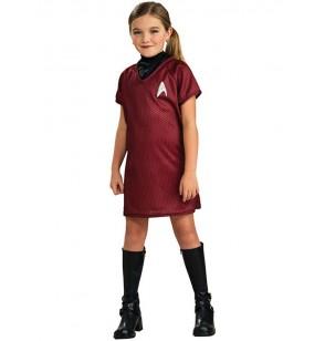 disfraz de star trek uhura rojo nia