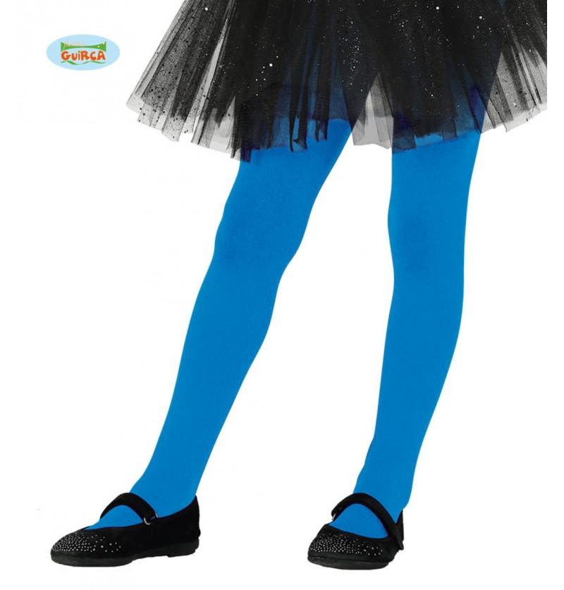 Pantys azules infantiles