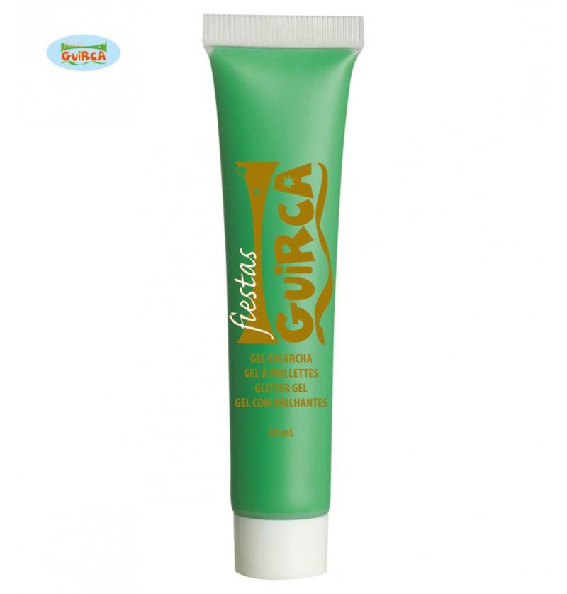 Maquillaje verde claro en crema tubo 20 ml