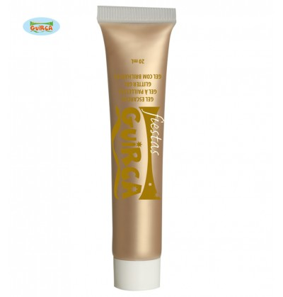 Maquillaje dorado en crema tubo 20 ml