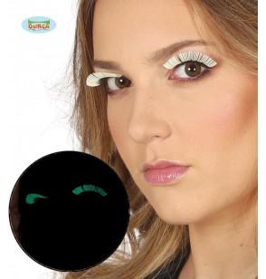 Pestañas fluorescentes para mujer
