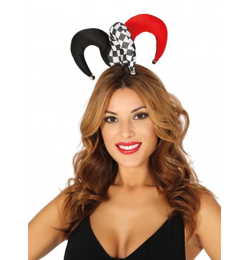 sombrero de arlequn pequeo y colorido para adulto