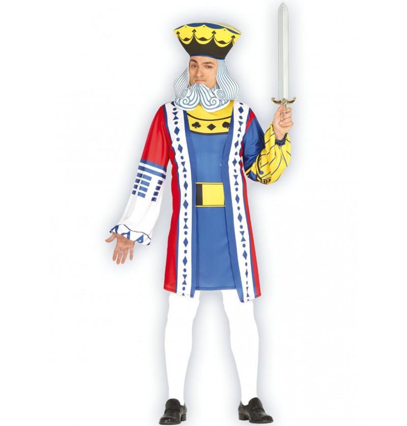 disfraz de rey de cartas para hombre
