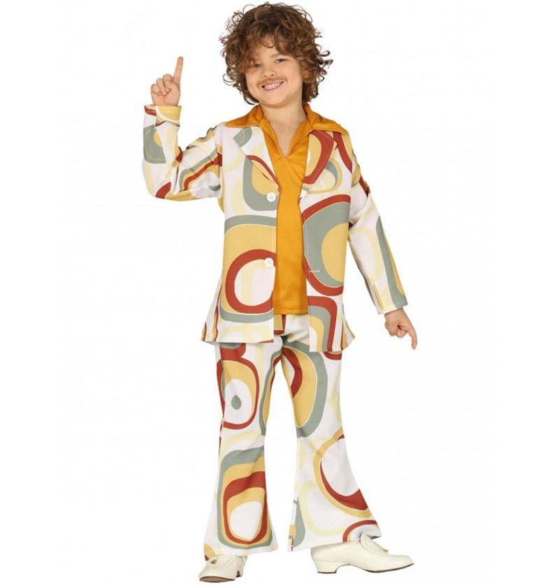 disfraz de disco de los aos 70 para nio