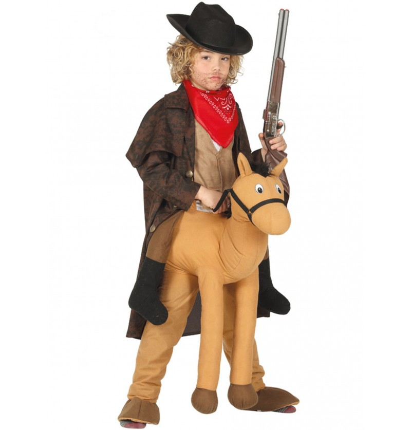 disfraz de caballo ride on infantil