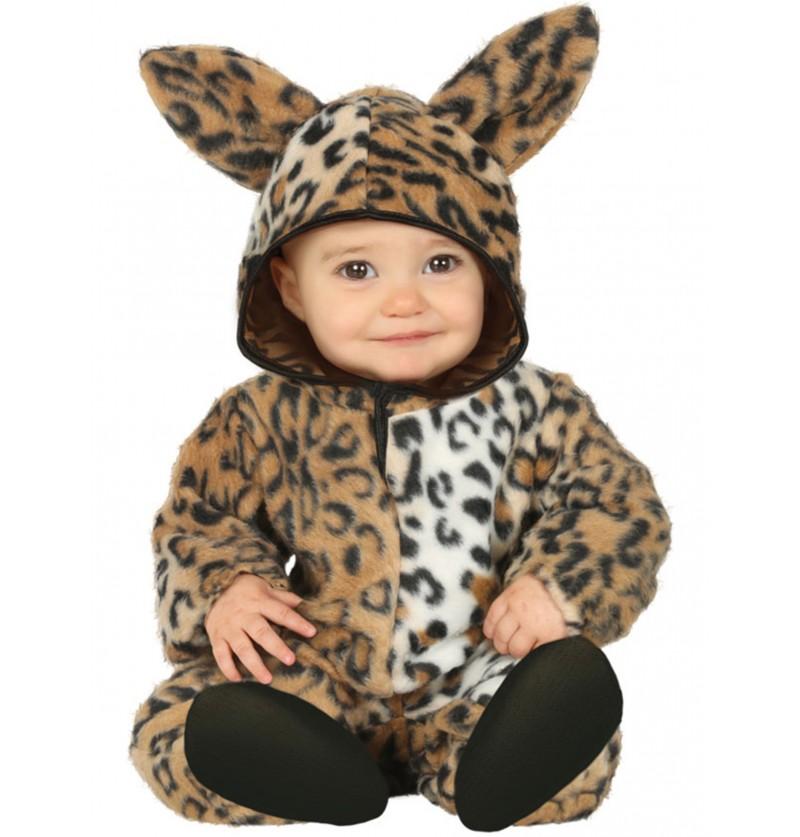 disfraz de leopardo adorable para beb