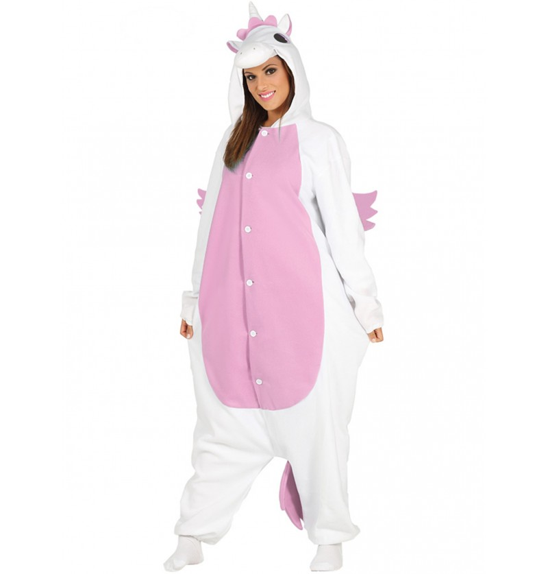 disfraz de unicornio onesie para adulto