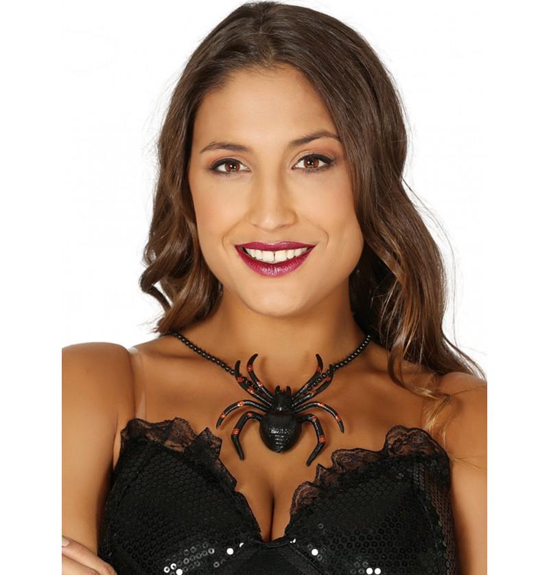 collar de araa negro