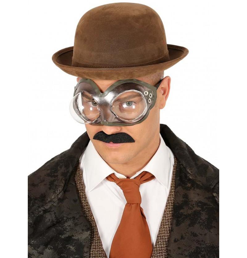 gafas steampunk redondas para adulto