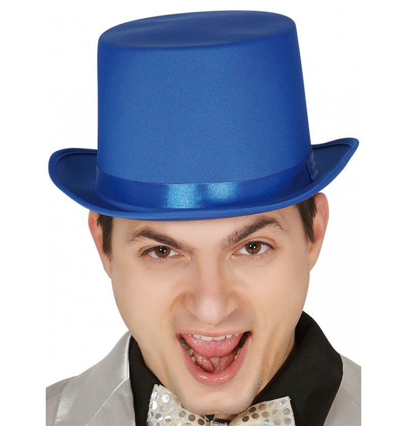 sombrero elegante azul para adulto