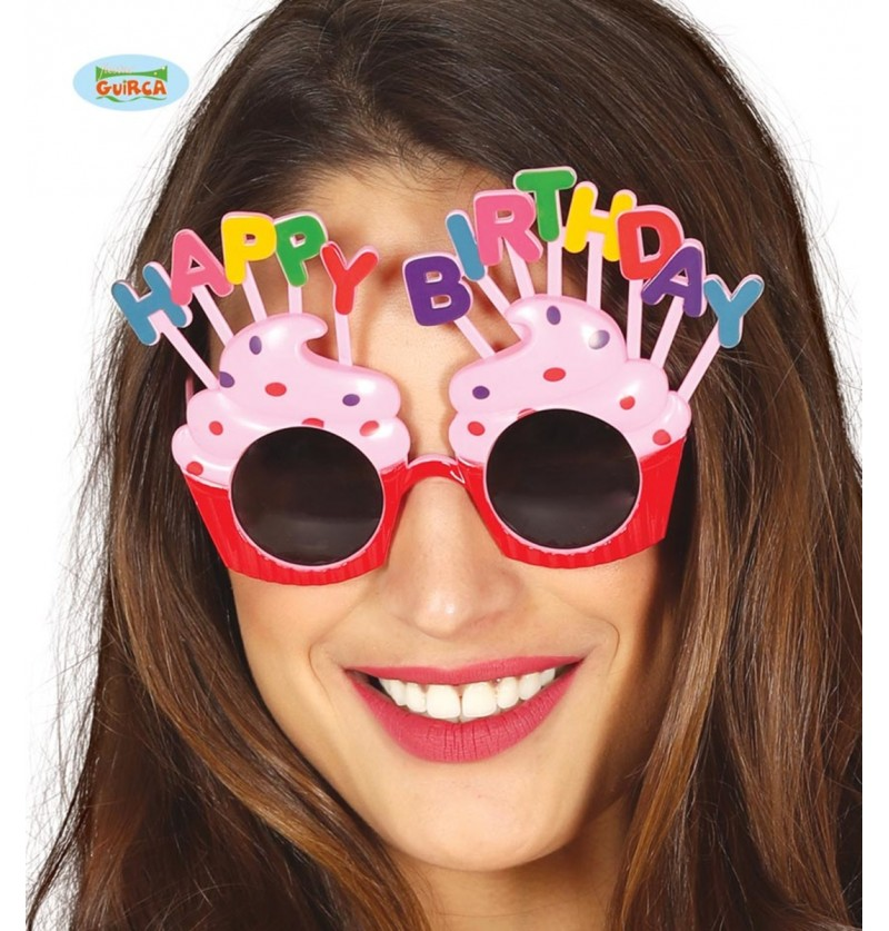 Gafas Happy Birthday para adulto