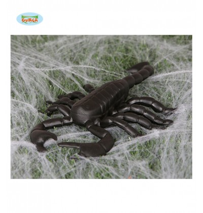 Figura decorativa de escorpión gigante de 19 cm