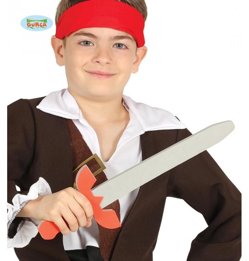 Espada pirata de EVA infantil de 53 cm