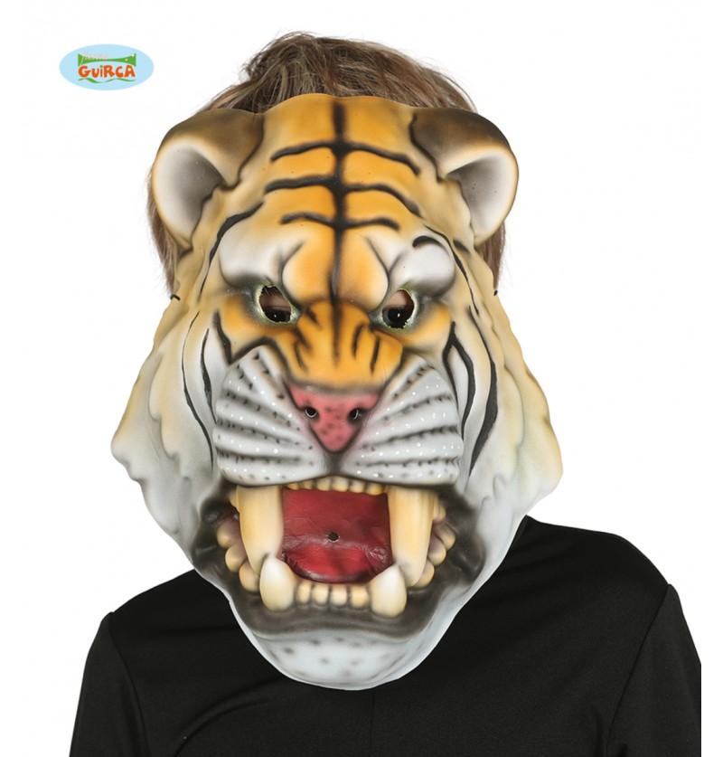 Máscara de tigre de EVA infantil