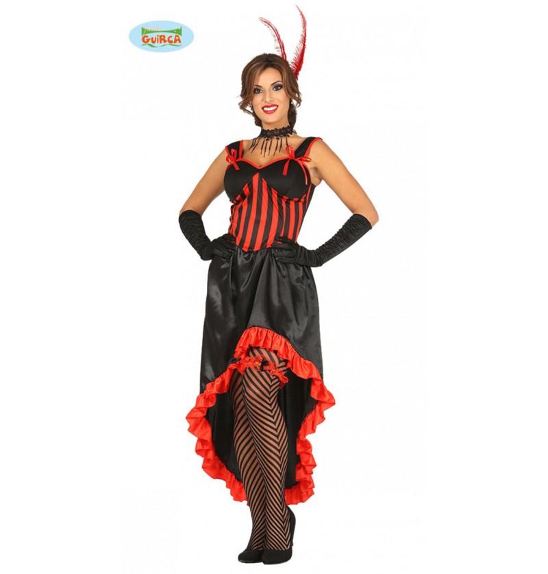 Disfraz de bailarina can can para mujer