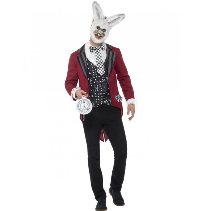 Disfraz de conejo puntual para hombre