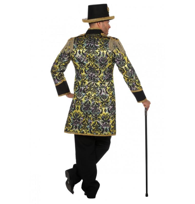 chaqueta de domador morada para hombre