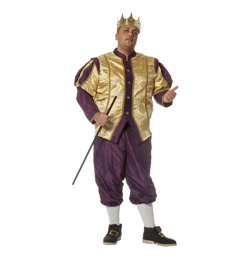 disfraz de rey barroco para hombre