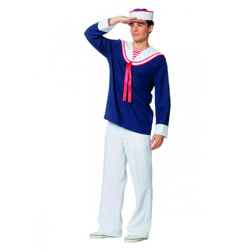 disfraz de marinero azul para hombre