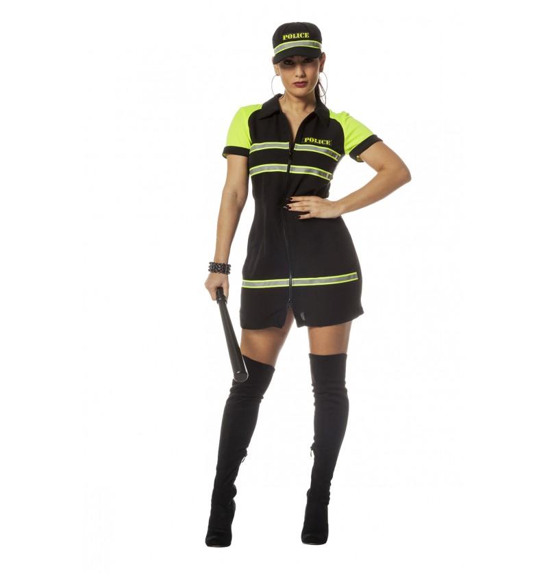 disfraz de polica para mujer