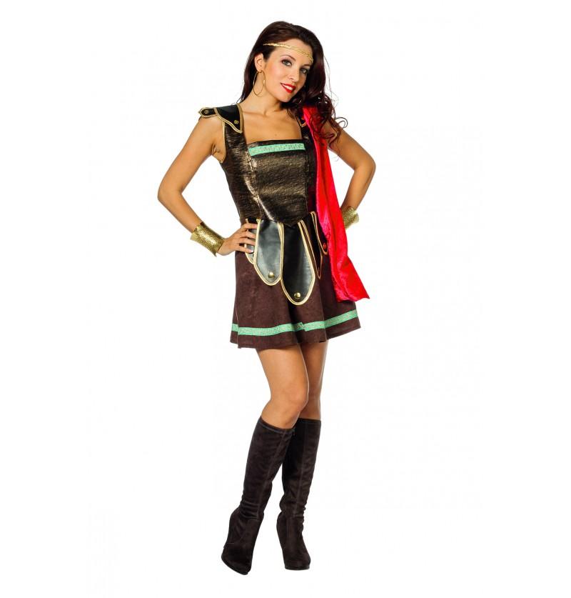 disfraz de gladiador sexy para mujer