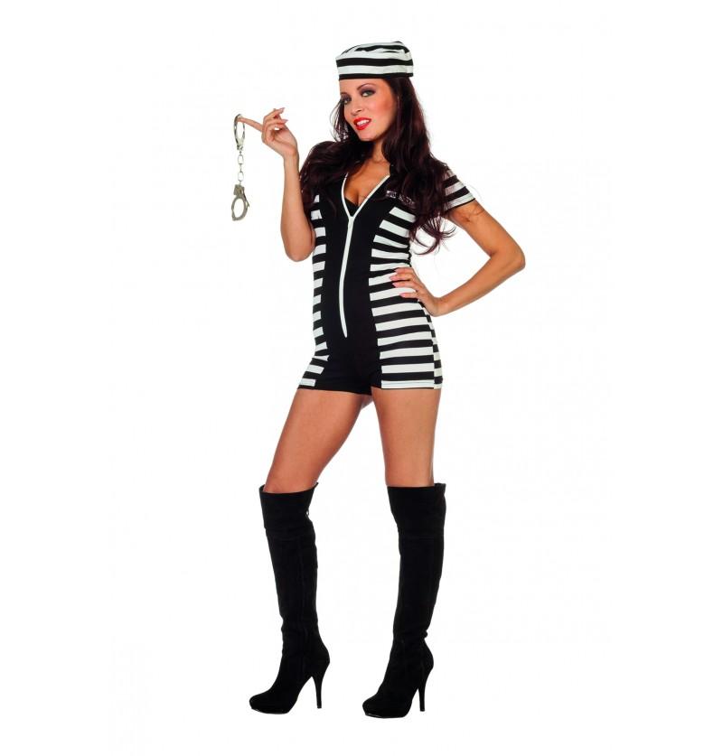 disfraz de prisionera sexy para mujer