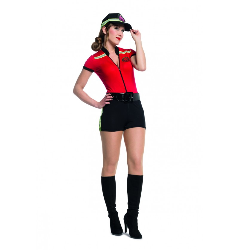 disfraz de bombero sexy para mujer