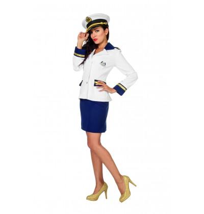 39762aa0f Disfraz de marinero blanco para mujer