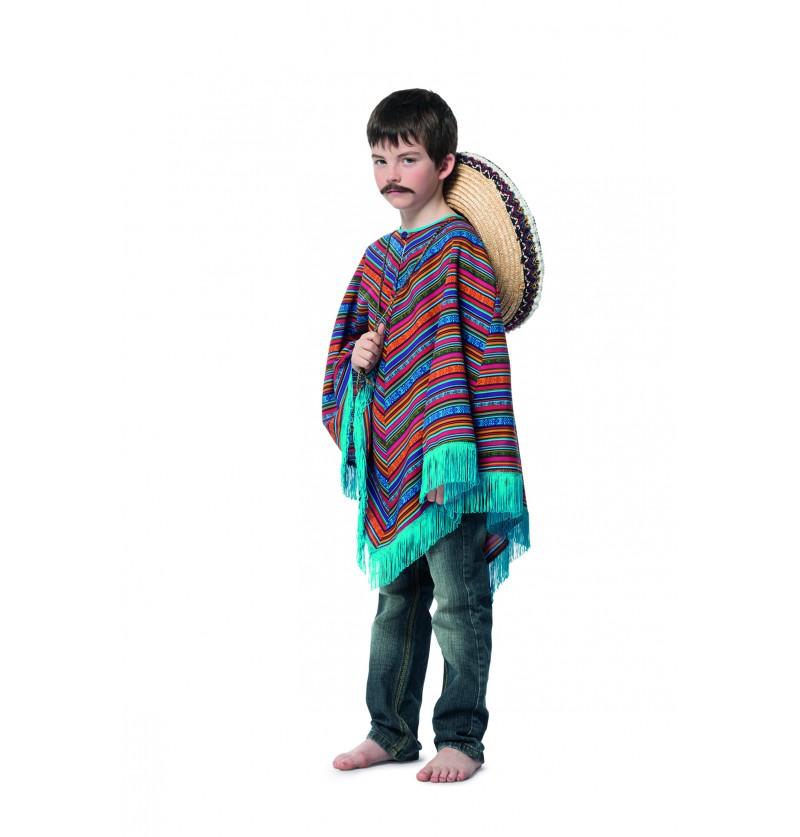 poncho mexicano para nio